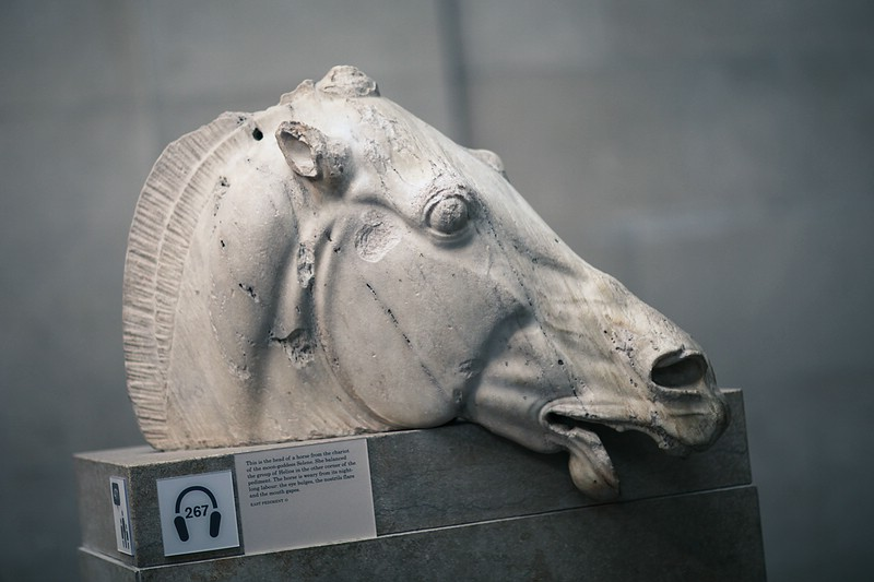 Horse head of Selene