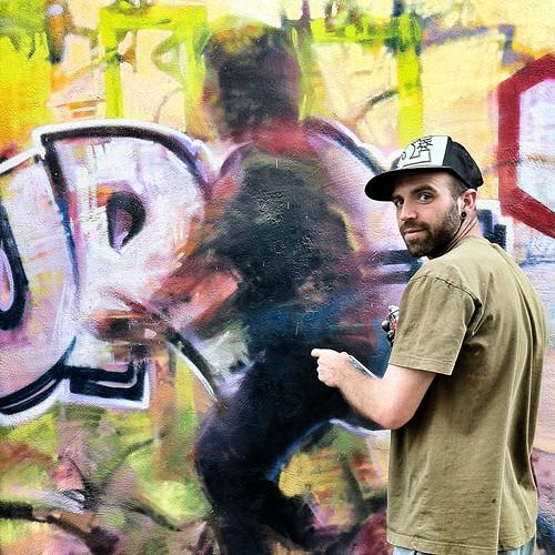 FERNANDO DE UÑA GRAFFITEANDANDO ANDA by juanluisgx