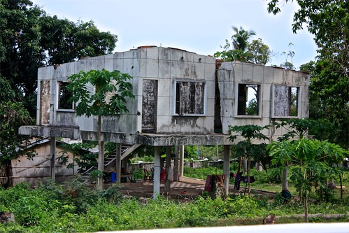 Kep was full of rundown French villas