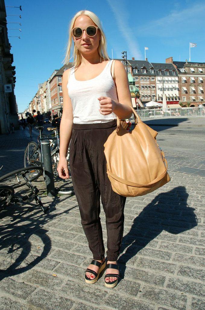 Copenhagen fashionista Pernille - 1