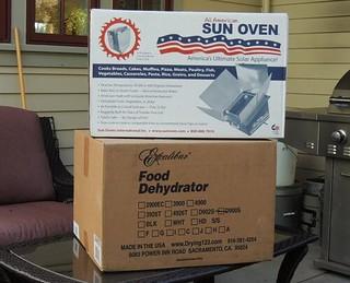 Sun Oven & Excalibur Dehydrator