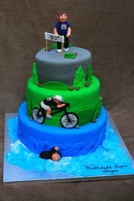Triathlon Cake Flickr Photo Sharing