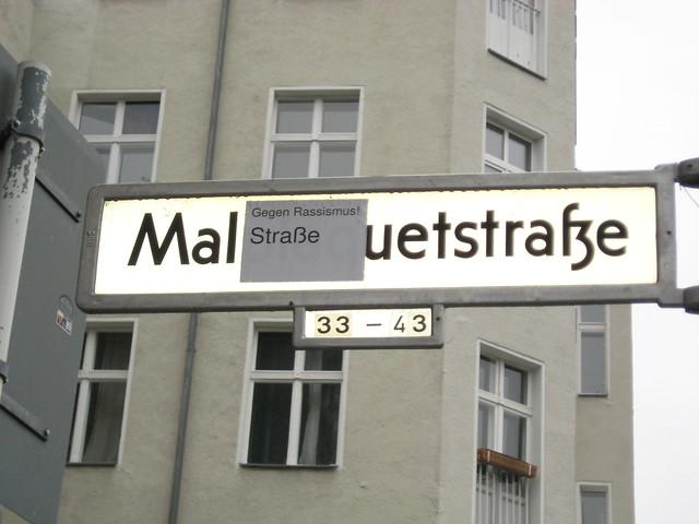 Gegen-Rassismus-Straße