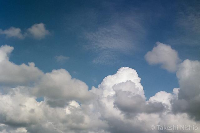 入道雲 / Cumulonimbus cloud