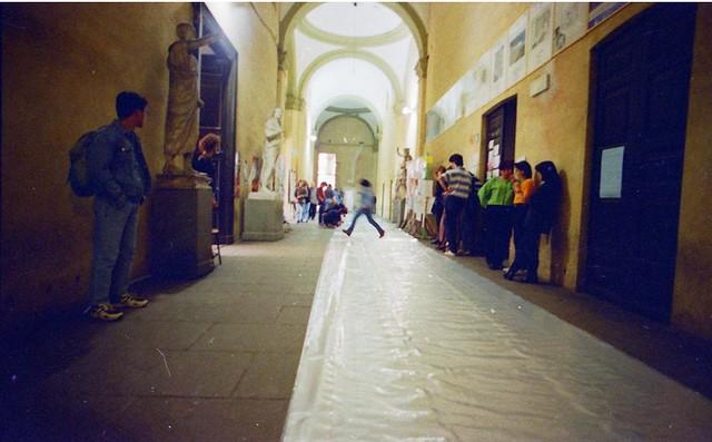 1996 - Pneuenvironment, Arte + Scienza, Accademia di Belle Arti di Brera
