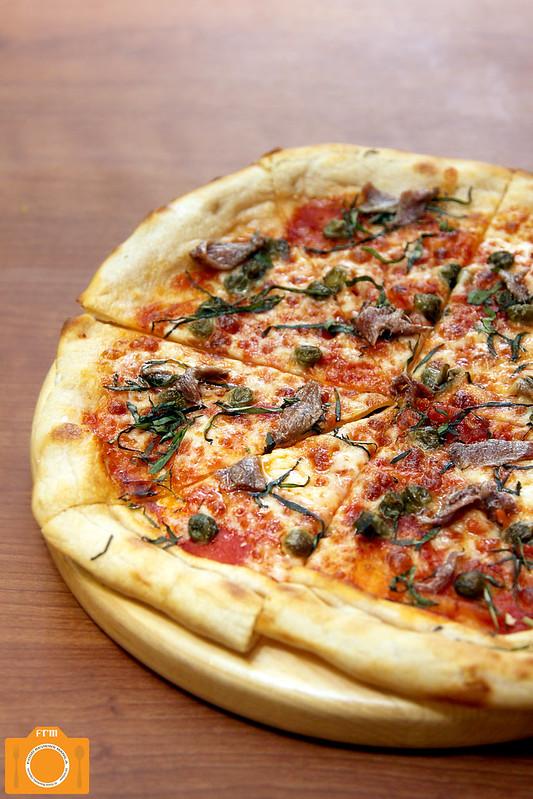 Mesclun Bistro Anchovies Sourdough Pizza