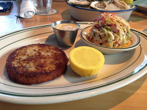 Crab Cake at Connie and Ted's