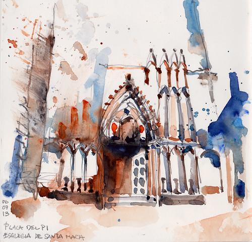 Esglesia De Santa Maria - Barcelona (Low)