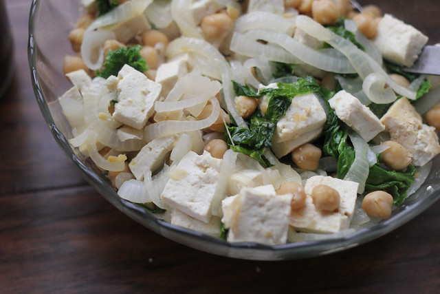 Lemon Chickpea Stir Fry | Joanne Eats Well With Others