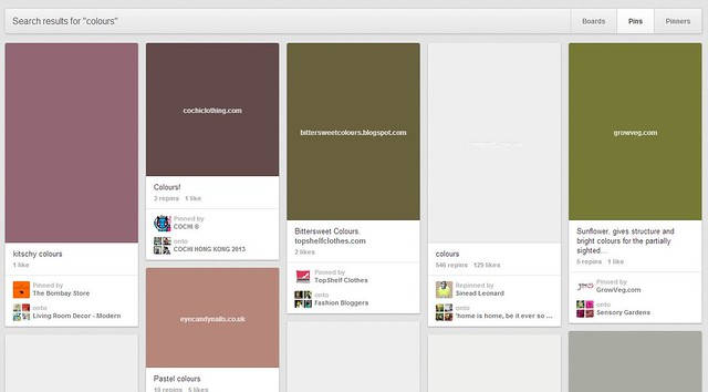 Pinterest lazyloading with color