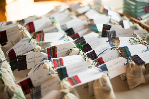 Escort Cards and favors