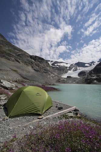 Wedgemount Lake Camp