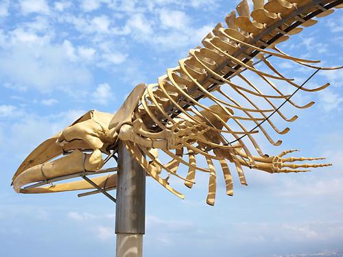 Whale Sculpture, Los Silos, Tenerife