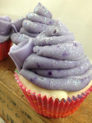Lavender Cupcake Soaps