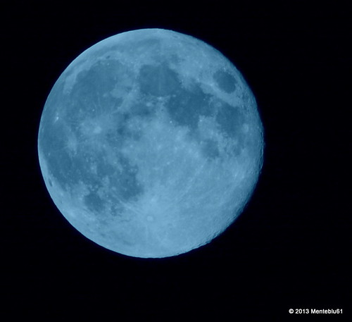 Blue Moon of 21 august 2013 by menteblu61