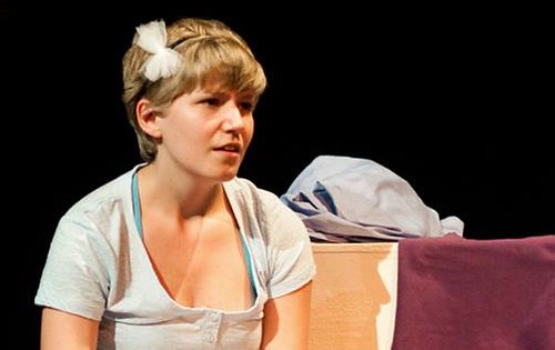 Elsa van der Wal as Sarah in Four Walls Photo © EUTC