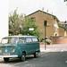 VW Bus in Baby Blue by stevenxuex