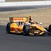 Ryan Hunter-Reay enters the esses portion of Sonoma Raceway