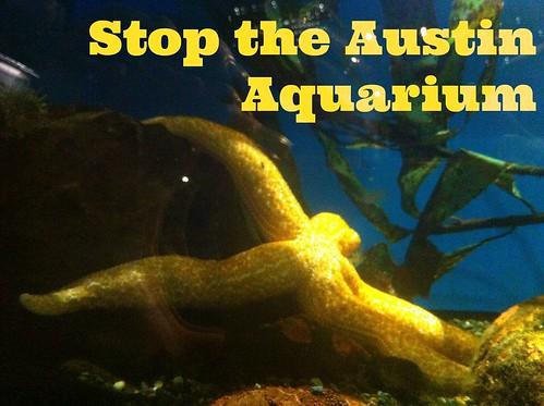Stop The Austin Aquarium Come To The Rally Lazy Smurf