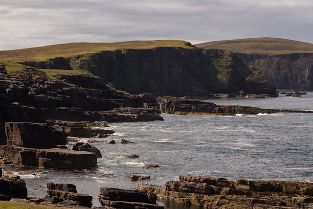 Rugged Scottish Coastline