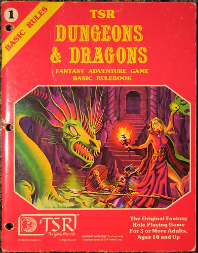 246/365 Dungeons & Dragons Basic Rules