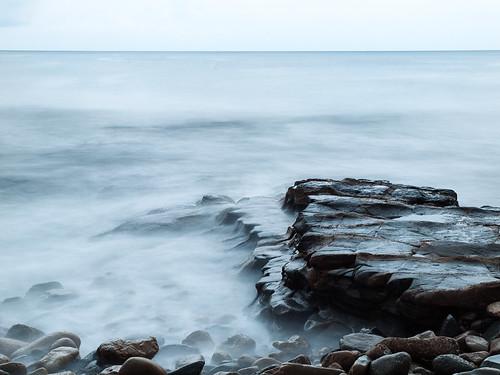 mar agua mediterraneo roca calpe calp monsalo