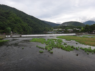View from Togetsu-kyo Bridge, Arashiyama