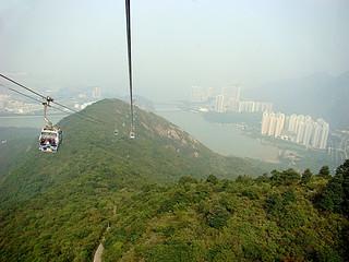 060 Kabelbaan terug naar Tung Chung