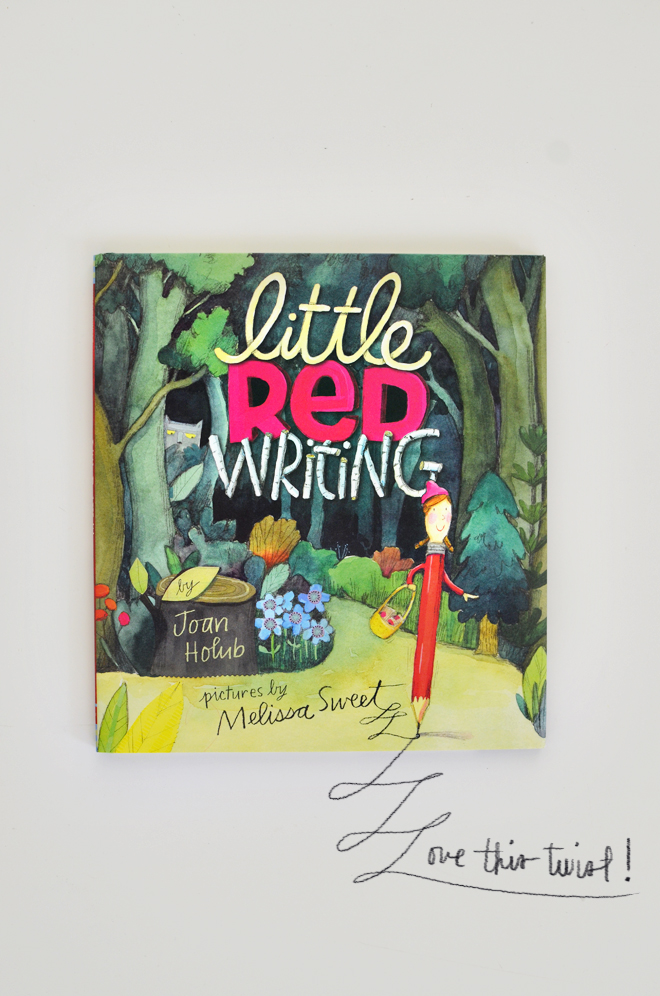 read and make: little red writing hood