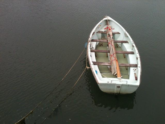 Boat in Fisherrow Harbour