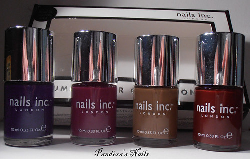 - nails inc autum winter collection