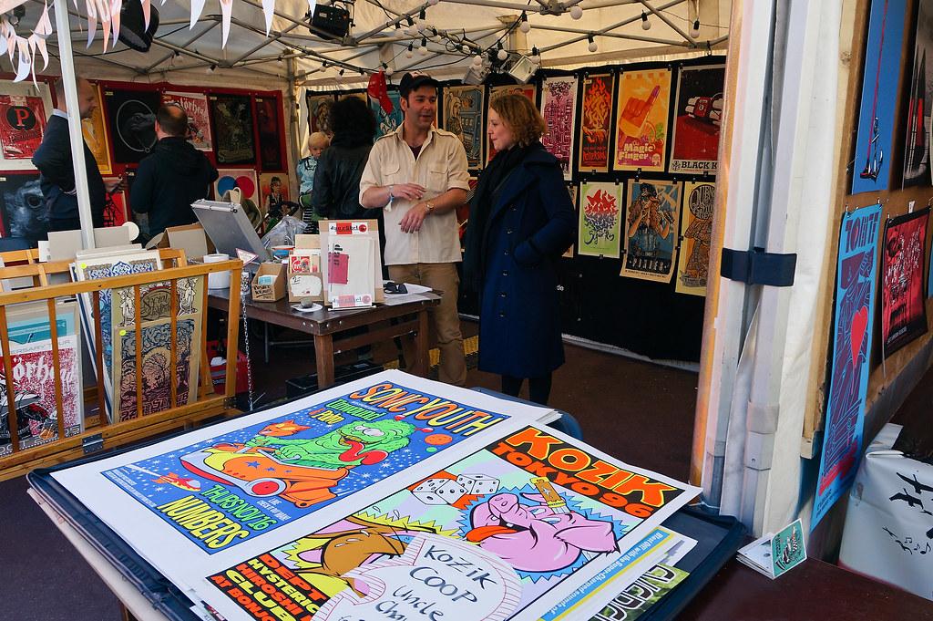 Reeperbahn Festival Flatstock Poster Convention