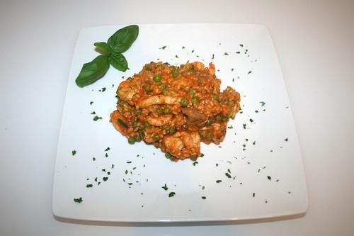 47 - Portugiesiche Reispfanne - Serviert / Portuguese rice fry - served