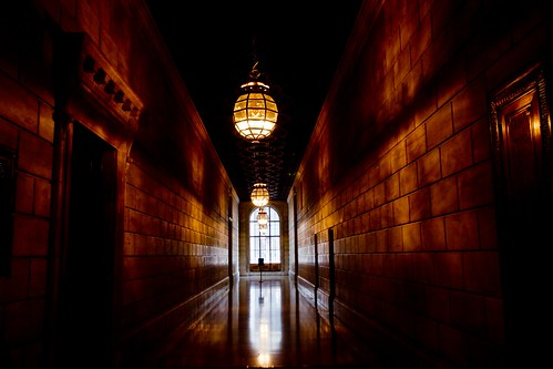 Corridor-New York Public Library