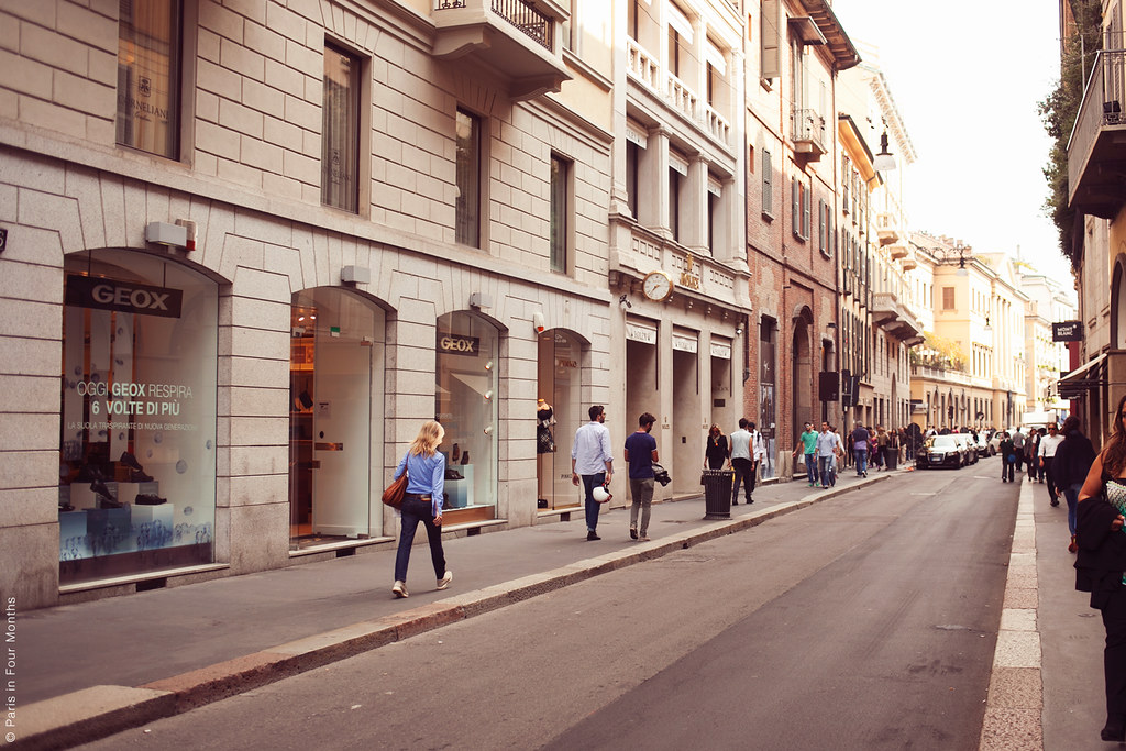 Strolling Around Milan