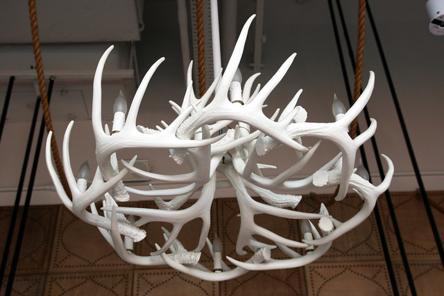 Antlers that light up above you