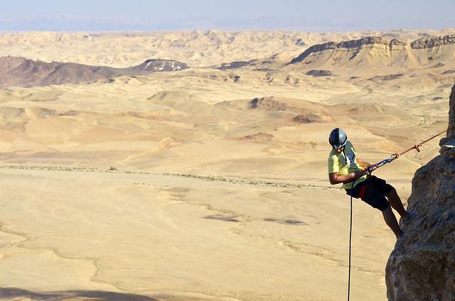 Rapel en el desierto de Neguev