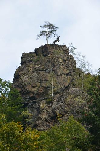 Diesmal von unten aus dem Höllental fotographiert