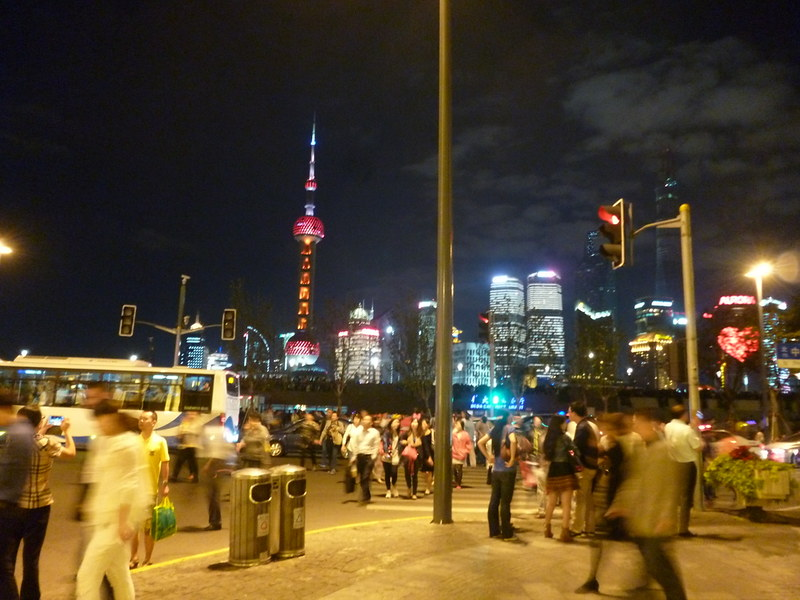 Shanghai at night