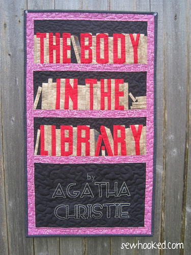 Agatha Christie quilt