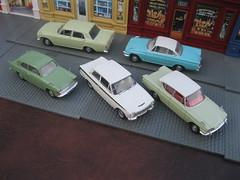 British Ford in the early 1960s: Anglia, Cortina Lotus, Consul Classic & Capri, Zephyr 4