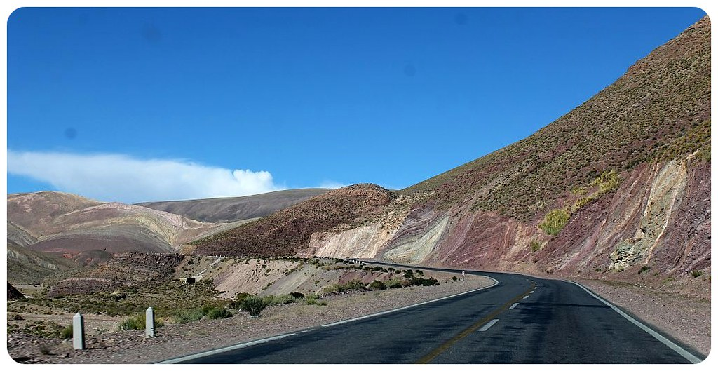 andes mountain road