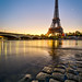 Sunrise in Paris by Mathieu Rivrin - Photographies