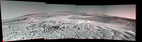 Oppportunity sol 3471 PanCam L2 R2 filters anaglyph