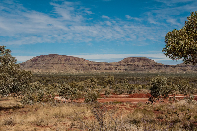 View of the Hamersley Ranges