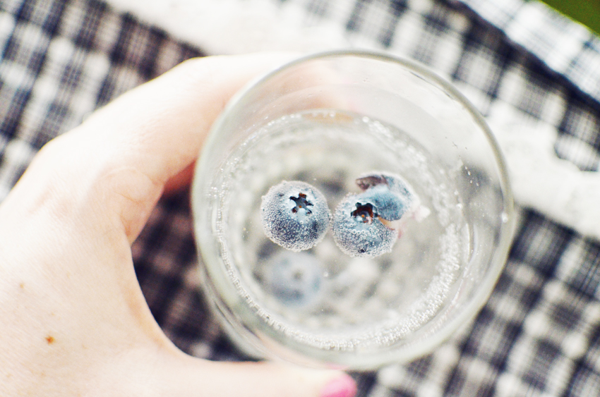 blueberries-gin