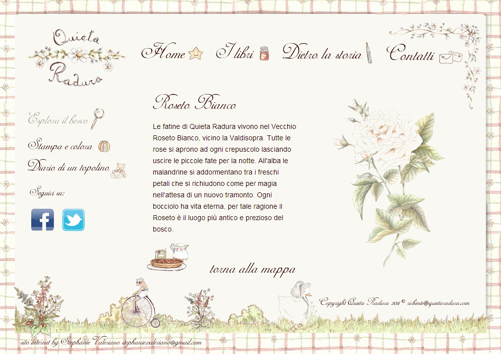 Quieta Radura - Roseto Bianco