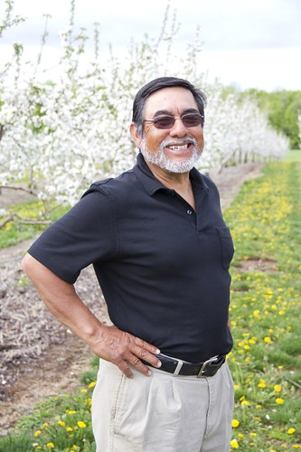 Over the years, Oscar Vizcarra's vineyard and family farm has become a thriving business.  Vizcarra brought his insight and experience to the table as a member of USDA's Fruit and Vegetable Advisory Industry Committee. Photo courtesy Vizcarra Vineyards.