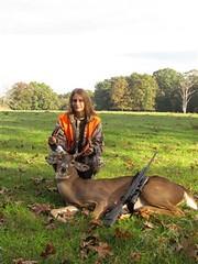 Meghan's First Deer
