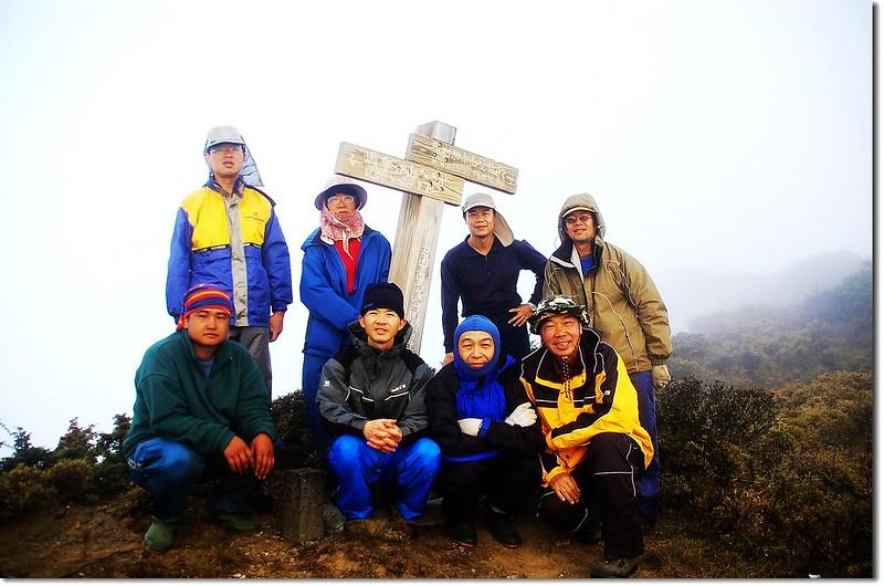 馬利加南山東峰頂 1